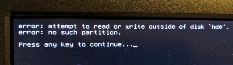 Dell Optiplex - SSD failure