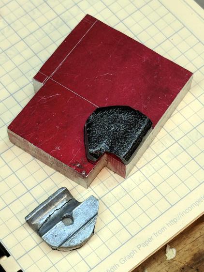 Magnifying Lamp Pivot - stock layout