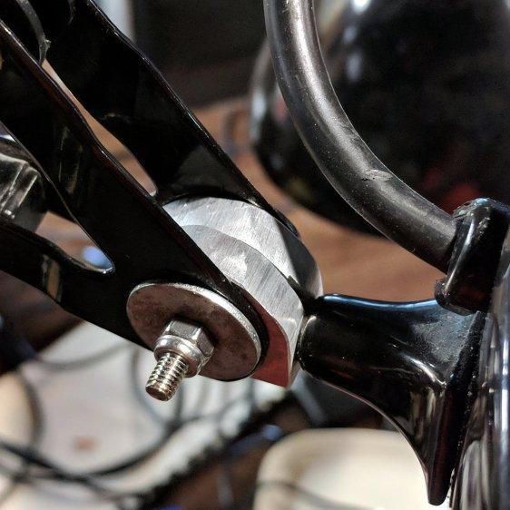 Magnifying Lamp Pivot - installed