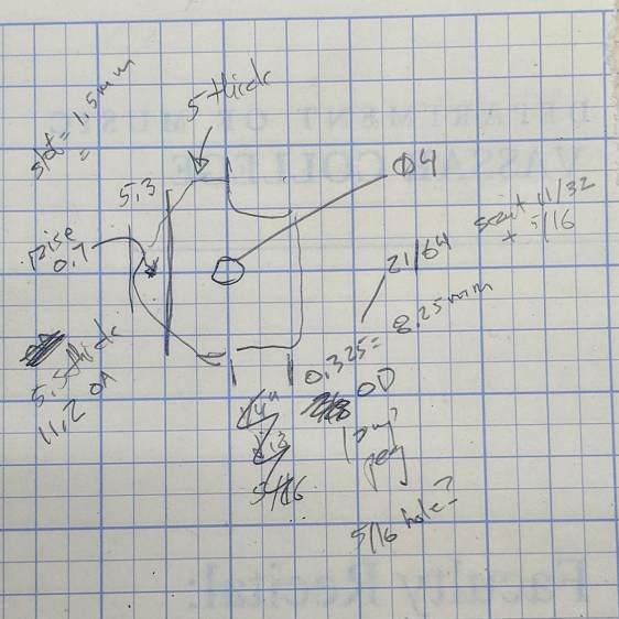 Magnifying Lamp Pivot - dimension doodles