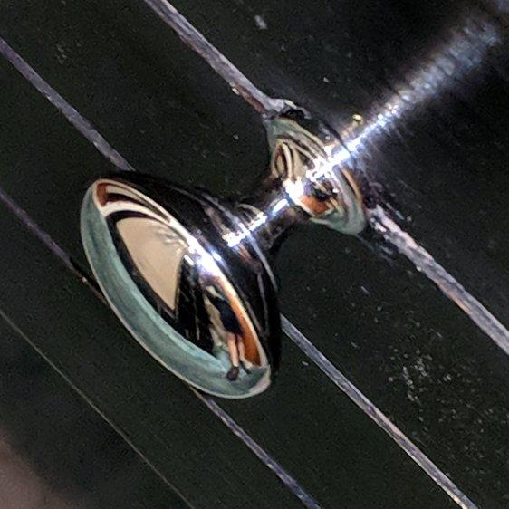 Bathroom knob - restored