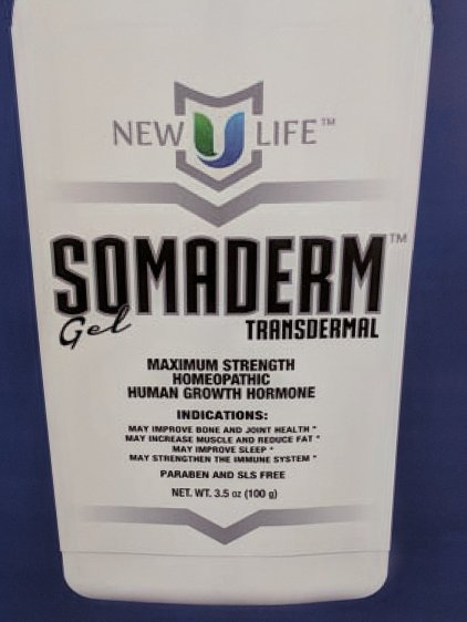Somaderm homeopathic HGH