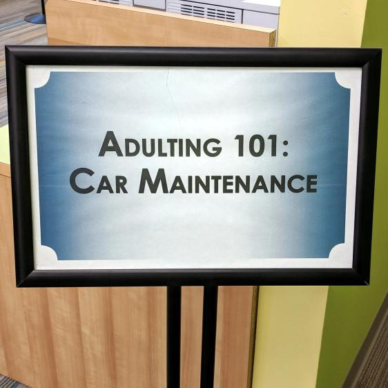 Adulting 101 - Car Maintenance