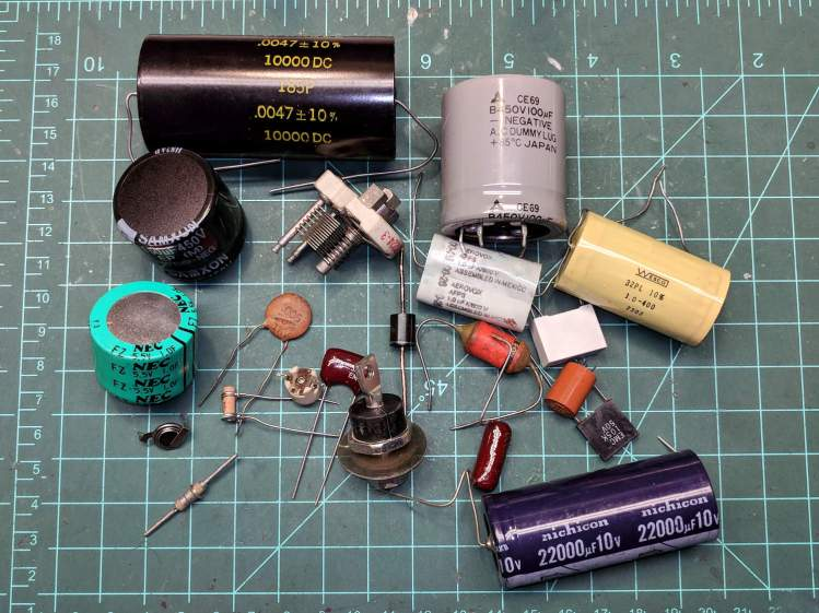 Capacitor show-n-tell