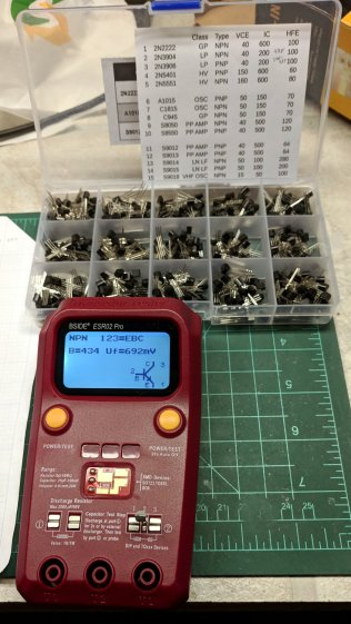 ESR02 Tester - 2N3904 measurement