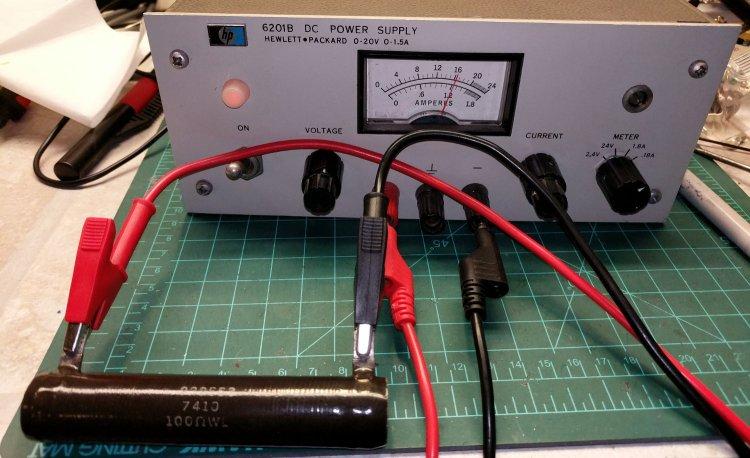 HP 6201B Power Supply - test load