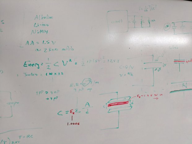 Session 6 - Whiteboard 1 - dielectric permittivity