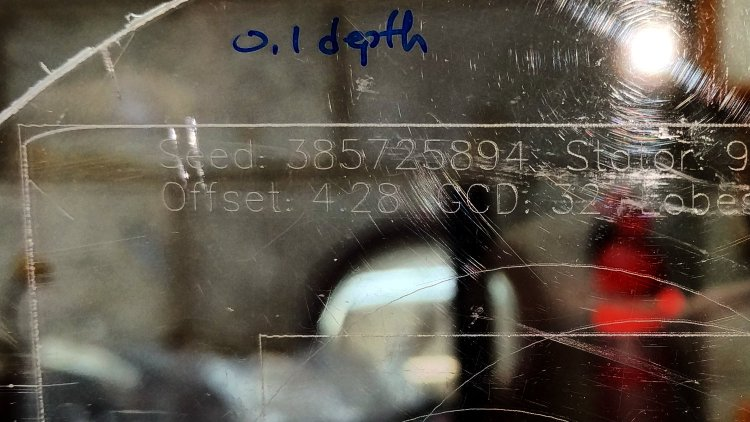 MPCNC - Diamond point - acrylic 0.1mm