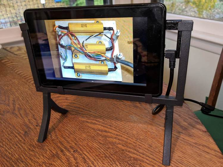 Kindle Fire Picture Frame - Test Run