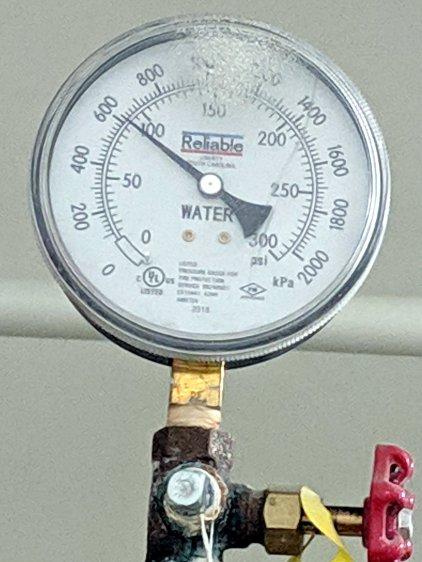 Hotel water pressure - floor 2