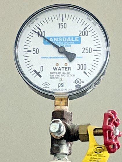 Hotel water pressure - floor 3
