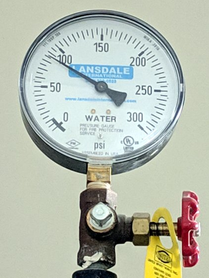 Hotel water pressure - floor 4