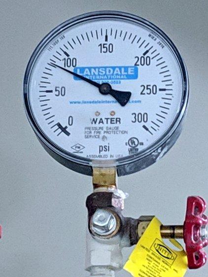 Hotel water pressure - floor 5