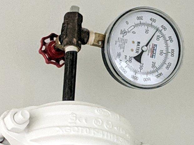 Hotel water pressure - floor 5 - top