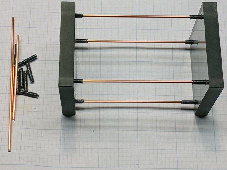 RGB LED Strut Fixture - assembled
