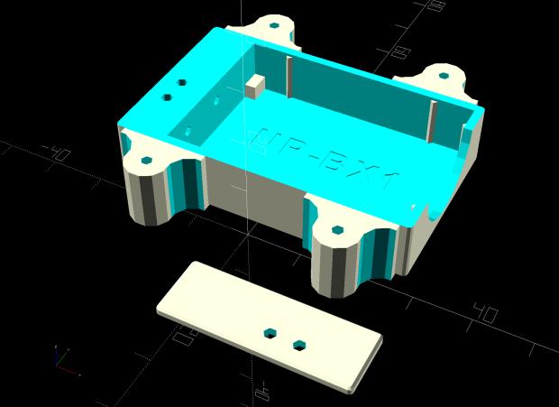 Astable Multivibrator Battery Holder