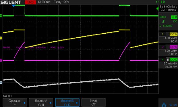 Astable - NP-BX1 3.8V - 20ma-div - cap V