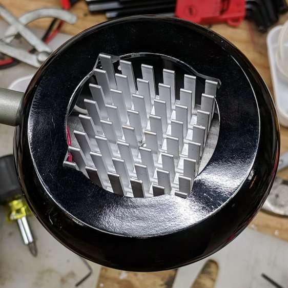Ex-halogen Desk Lamp - heatsink fitting