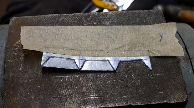 Drawer Stops - chiseled blanks