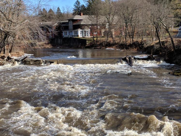 Red Oaks Mill Dam - 2018-01-13