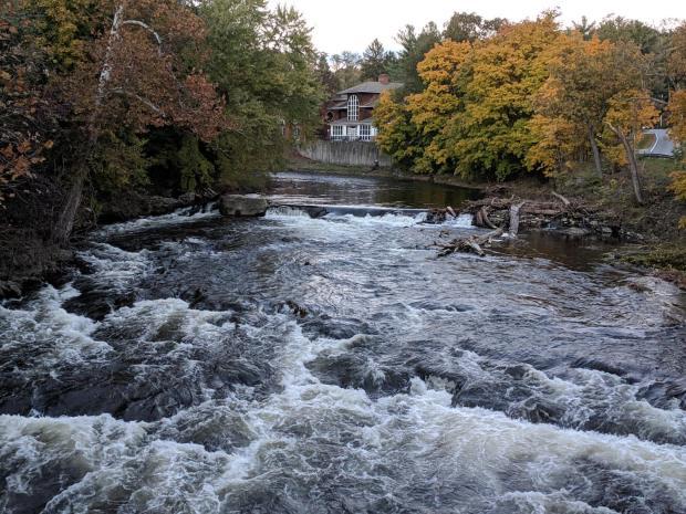Red Oaks Mill Dam - 2018-10-29