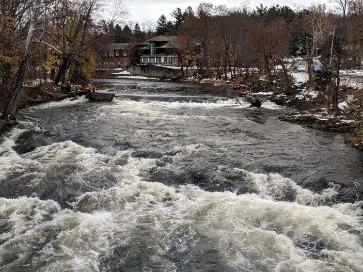 Red Oaks Mill Dam - 2018-11-18
