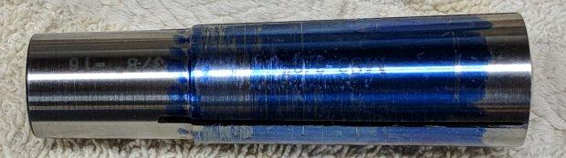 Minilathe - MT3 collet - taper test