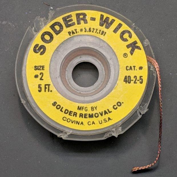 Soder-Wick - Original - Size 2