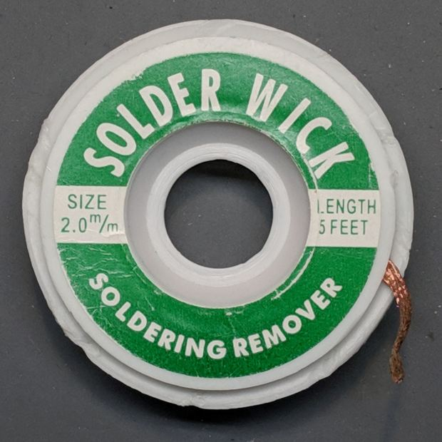 Solder Wick - Knockoff - Size 2mm