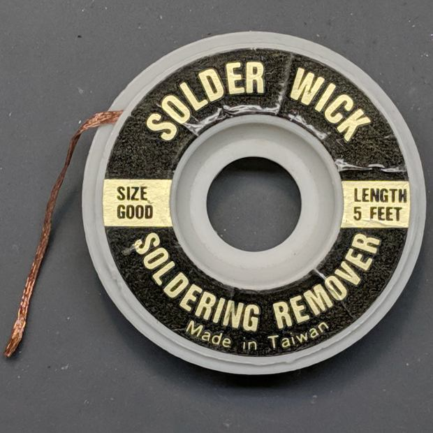 Solder Wick - Knockoff - Size Good