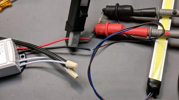Juki TL-2010Q COB LED - ballast resistor test