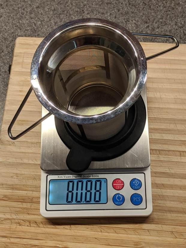 Tea Strainer - 80.88 g