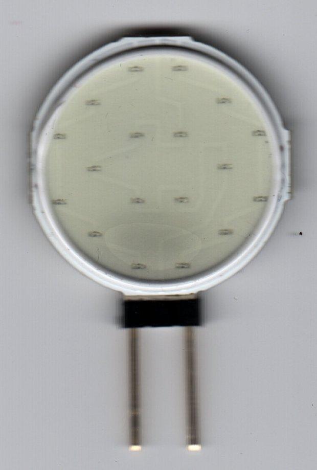 Circular 12V COB 18 LED panel