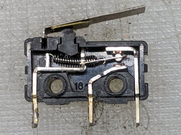 M2 Z-Axis - microswitch interior