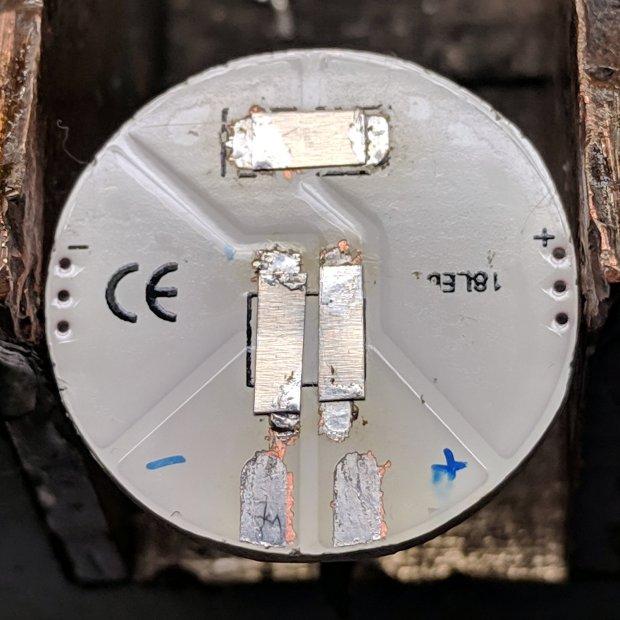 Juki TL-2010Q Needle LEDs - COB LED jumpers