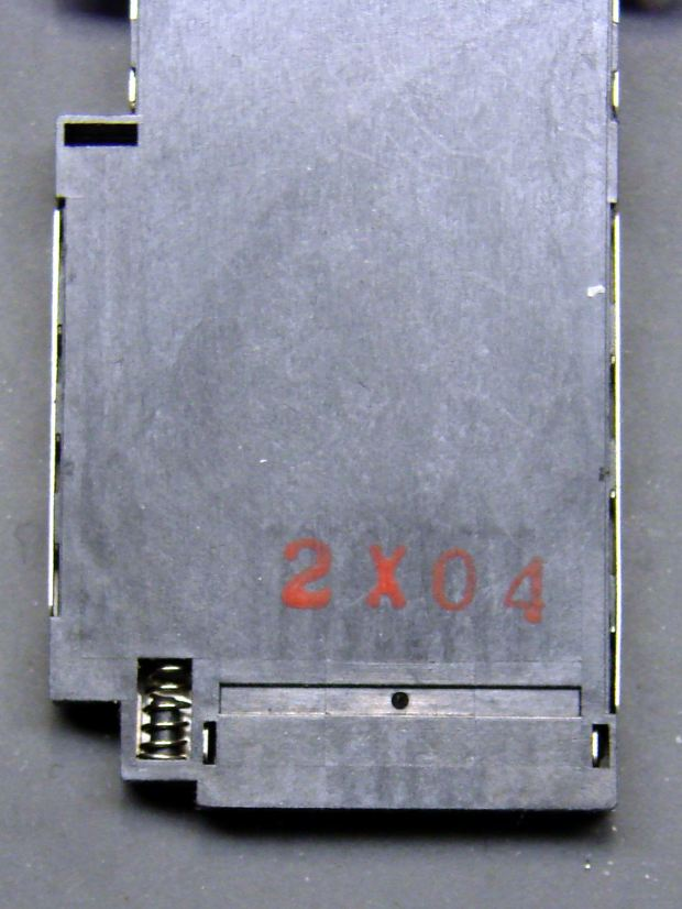 DSC-F717 - Memory Stick socket - bottom