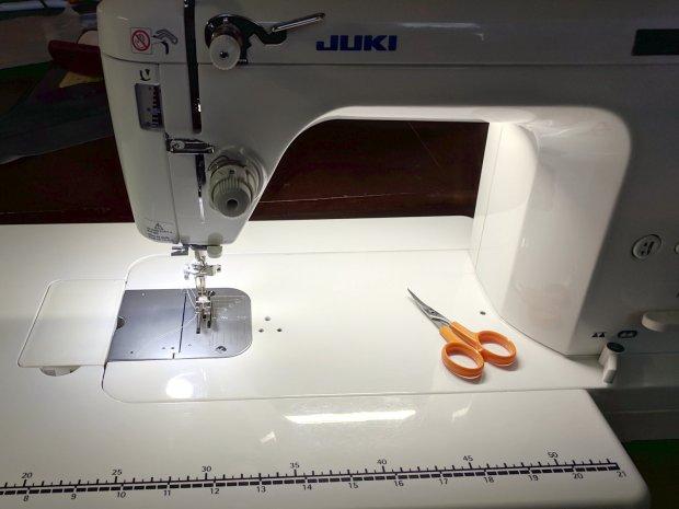 Juki TL-2010Q Needle LEDs - front