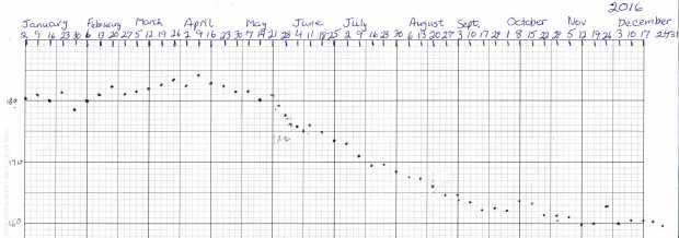 Weight Chart 2016 - Ed