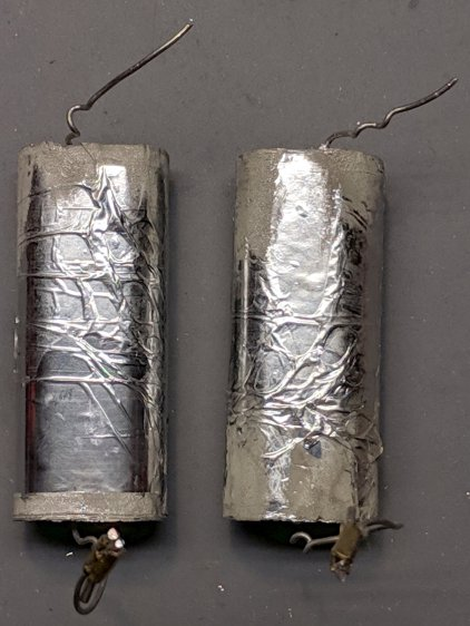 Fluorescent ballast capacitors - one failed