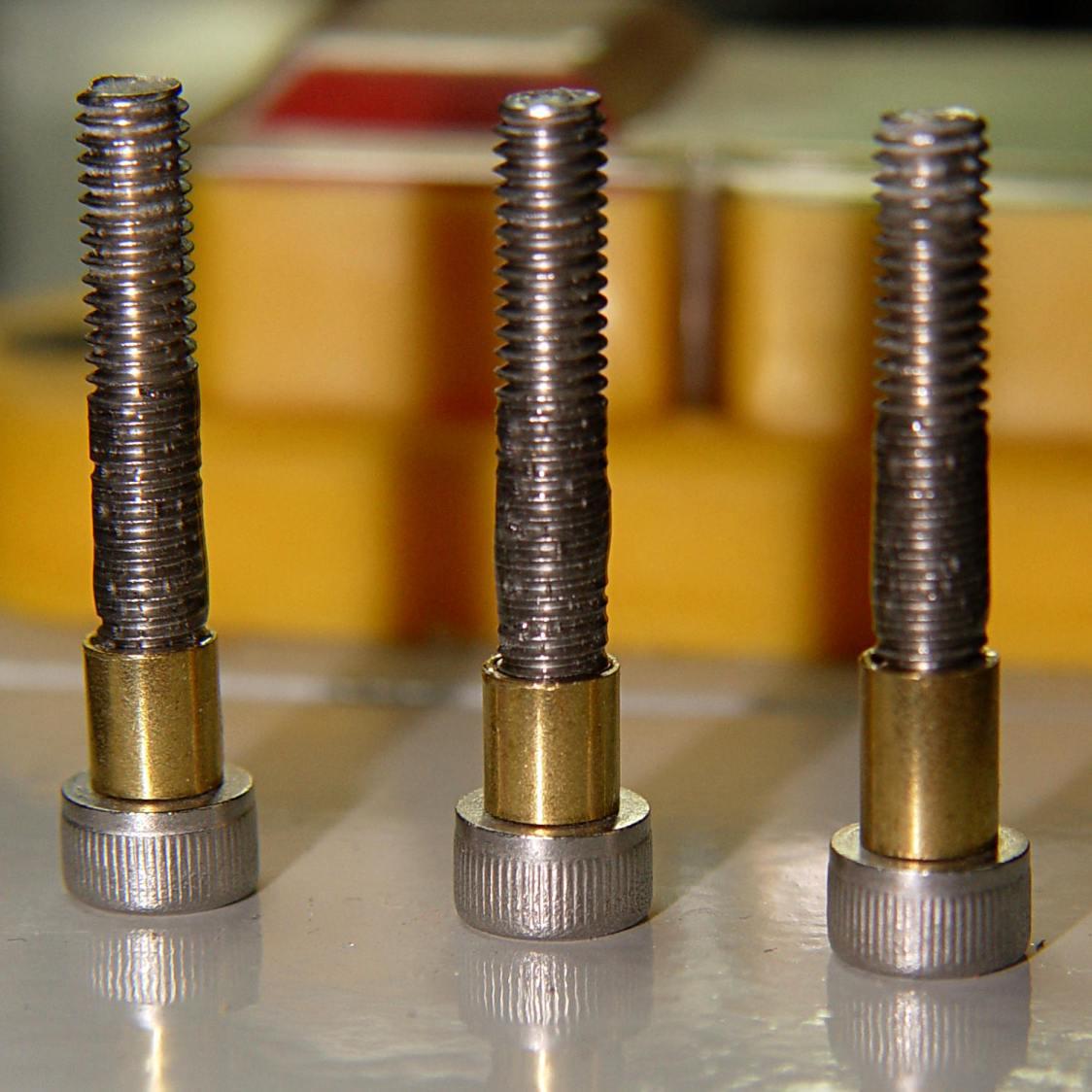 Ersatz stripper bolts - epoxy fill
