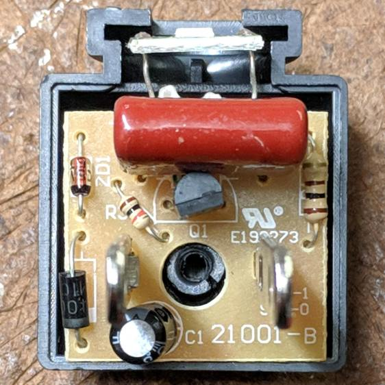 Nightlight - PCB component side