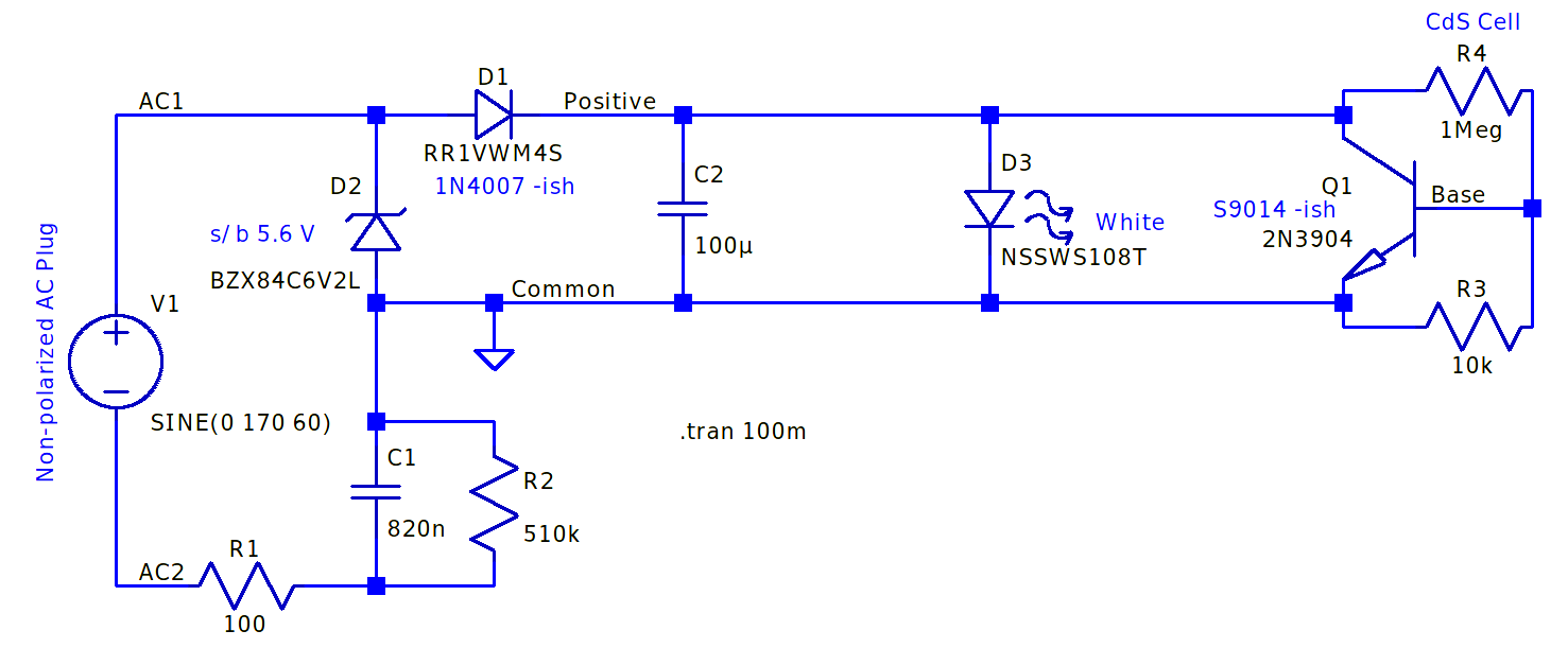 Nightlight schematic