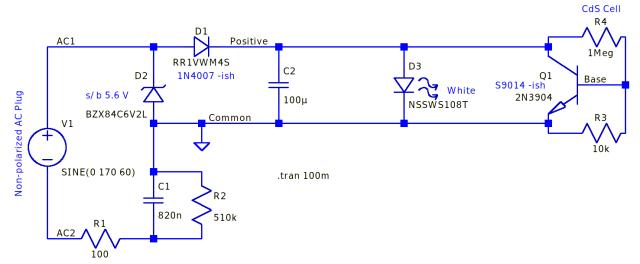 Nightlight schematic