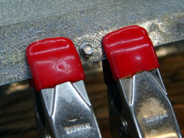 Dryer Vent - screw clamps