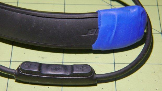 Bose Hearphones - cosmetic repairs - detail