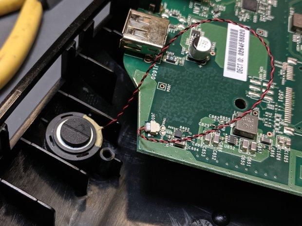 Ooma Telo 2 - OEM speaker to PCB