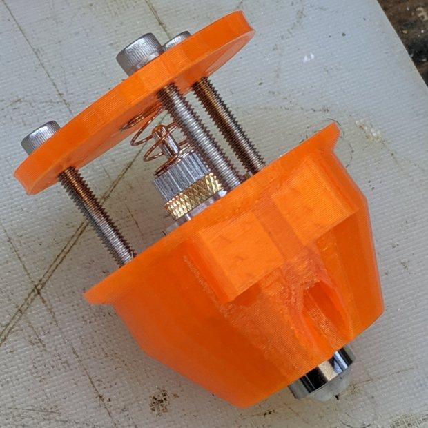 Drag Knife - LM12UU ground shaft - assembled