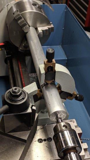 M12UU Collet Pen Holder - center drilling