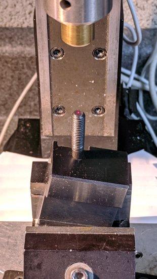Lathe Cutoff Tool - aligning to screw
