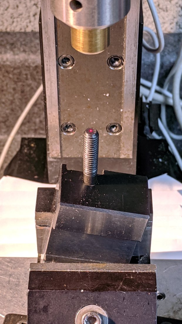 Lathe Cutoff Tool - aligning to screw